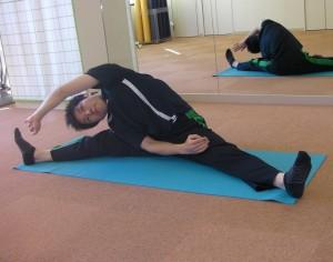 肋間筋と腰方形筋のストレッチ
