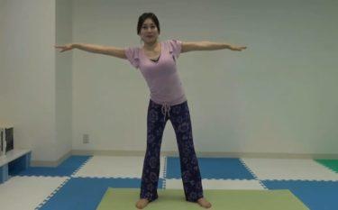 体幹回旋を担う外腹斜筋を鍛えるサイドリーチ