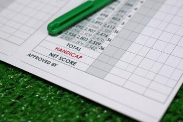 【ゴルフトレーニングの科学的根拠No.28】ハンディキャップとヘッドスピードの関係